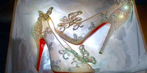 why did cinderella wear glass slippers louboutin brings cinderella s glass slippers to faze