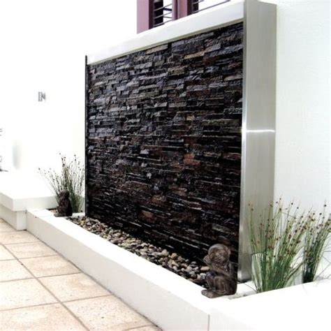 Backyard Feature Wall Ideas 49 Amazing Outdoor Water Walls For Your Backyard Digsdigs