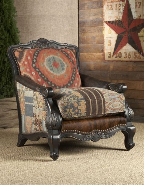 Southwestern Living Room Furniture | southwestern buckley chair chairs ottomans living room