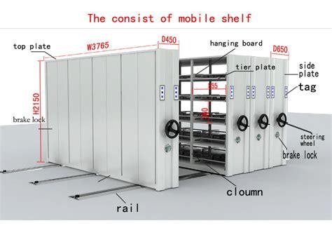 modern filing cabinet system easy operate mechanical shelves modern mobile