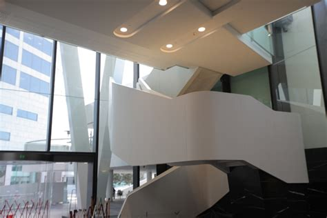 Corian Cladding Details Clad In Corian 174 One One One Eagle Indesignlive