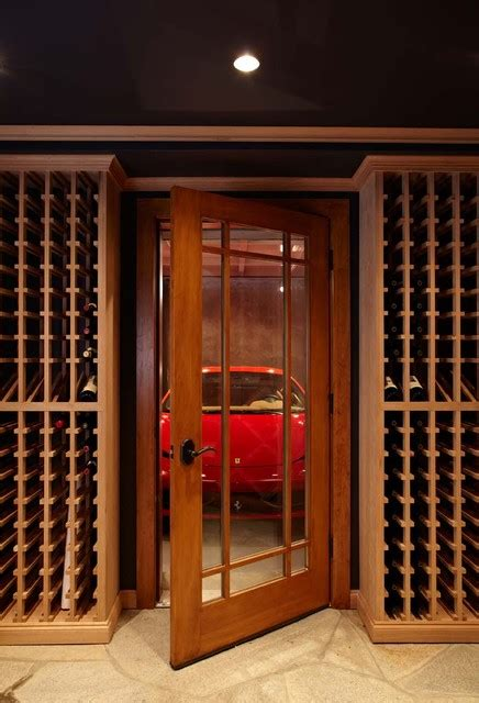 ultimate man cave  sports car showcase traditional