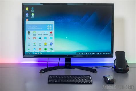 samsung dex review can your phone replace a pc android authority