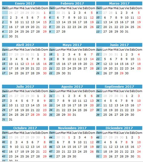 Calendario Por Dia Calendario 2017 P 225 4 Calendarios 2017 Para