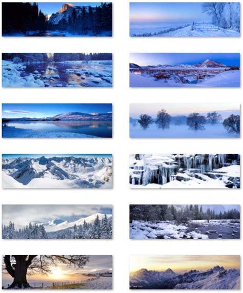 themes for windows 8 1 rt desktop fun snow panoramic theme for windows 8 1 rt dual