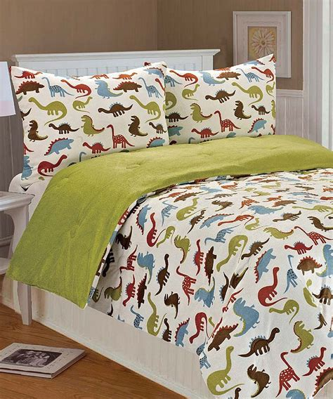 dinosaur comforter dinosaur bedding for my boy pinterest