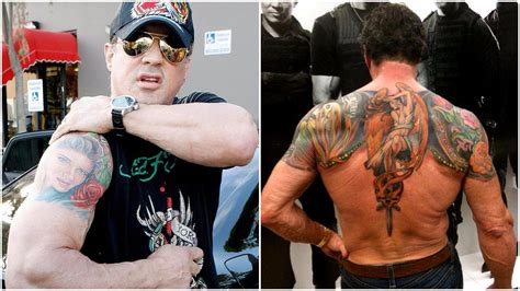 stallone tattoo sylvester stallone tattoos everything you should