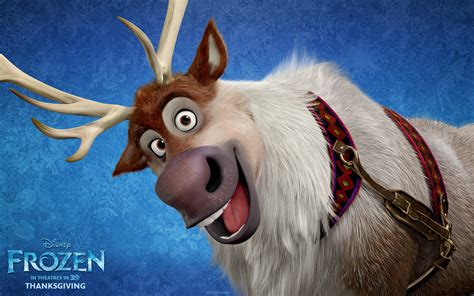 disney frozen wallpaper sven disney frozen reindeer quotes quotesgram