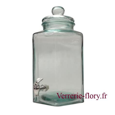 Bonbonne En Verre Avec Robinet by Bonbonne Hexa 11 5 Litres Avec Robinet