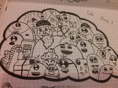 zszywka doodle moje doodle a jeśli wy też lubicie je rysować to