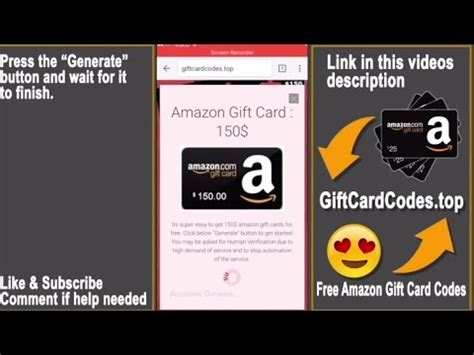 Free Amazon Gift Card Codes 2017 - free amazon gift cards how to get free amazon gift card codes 2017 youtube