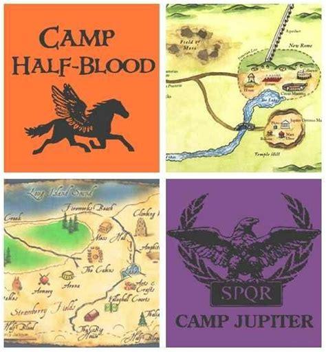 camp half blood camp jupiter map percy jackson and