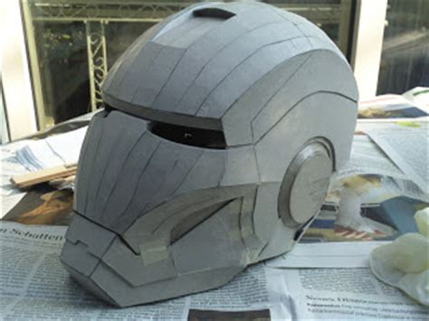 making iron man helmet armor iron man