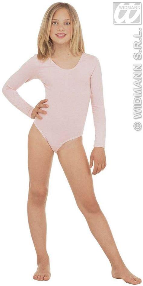 young girls in leotards leotard girls w sleeves lt pink