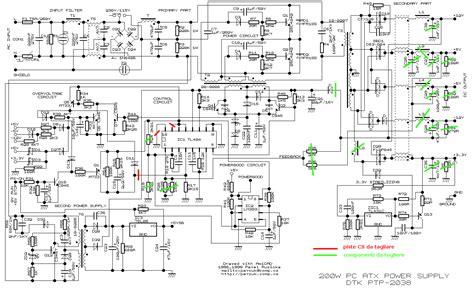 schema alimentatore switching power supply atx come realizzare un sps da
