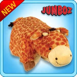 Jumboz Pillow Pet authentic pillow pets jolly giraffe 30 quot jumboz