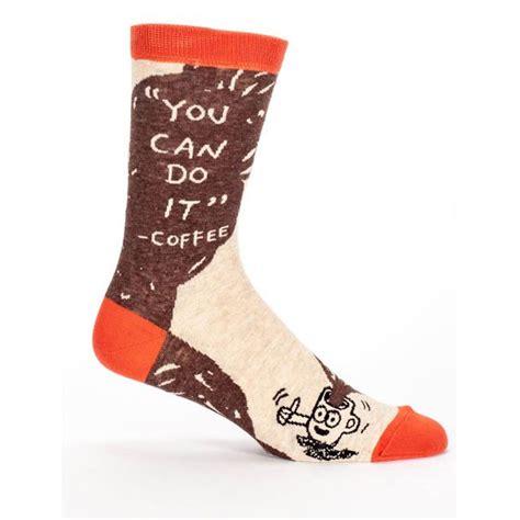 socks with sayings s you can do it coffee socks mens sayings socks