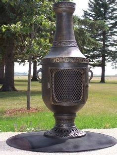 Chiminea Spark Arrestor by Outdoor Heaters Pits Chimineas On