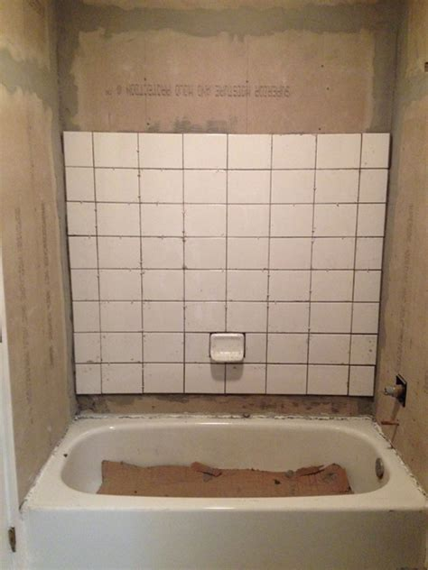 retile bathroom floor retiling a shower planitdiy