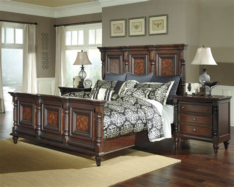 key town mansion bedroom set b668 157 154 96 furniture
