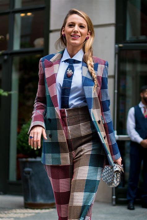 blake lively style  simple favour press