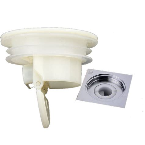 Smell Proof Shower Floor Siphon Drain Cover Sink Strainer