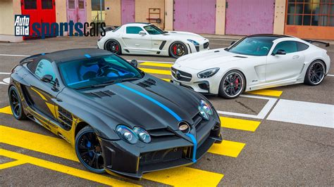Auto Bild Sportscars Mercedes Amg by Widebody Monster Fab Design Veredelt Mercedes Slr Sls