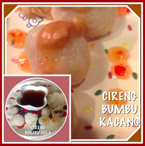 resep cireng bumbu kacang bumbu gula merah