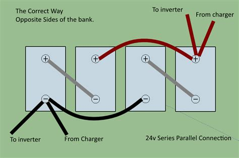parallel wiring diagram 24v battery charger wiring