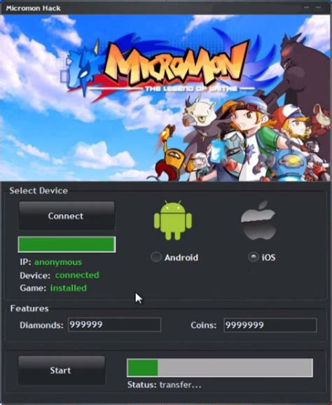 downloads ios hacker micromon hack tool cheats free download android ios