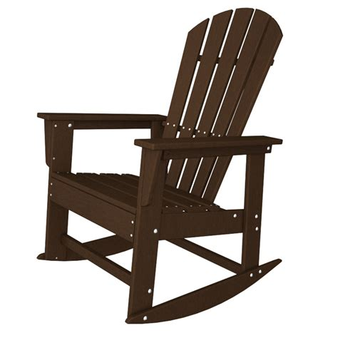 rocking chaise polywood south beach rocking chair adirondack rocking