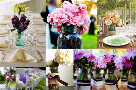 wedding centerpieces using jars the newly engaged for all the dolls page 2