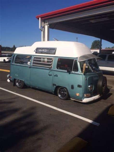 buy  vw bus high top  light camper  puyallup washington united states