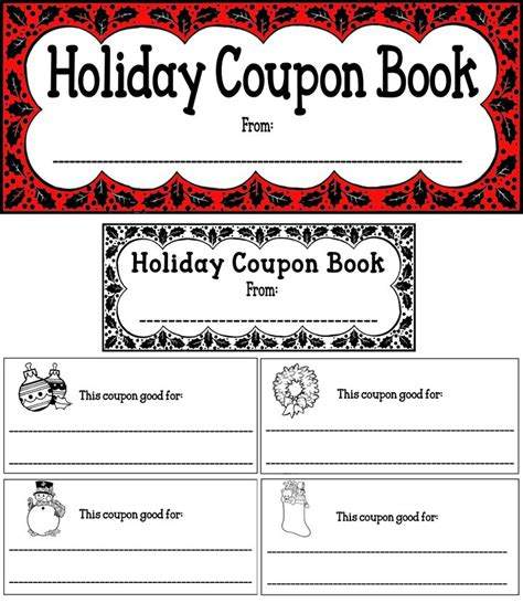 coupon book template word 17 best images about 1 on behavior