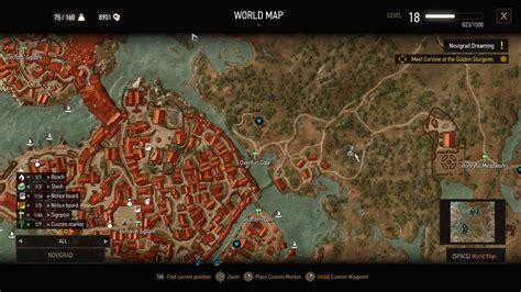golden sturgeon witcher 3 map the witcher 3 golden sturgeon location well hidden details