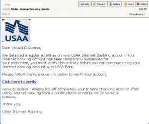 phishers take aim at usaa 171 threattrack security labs