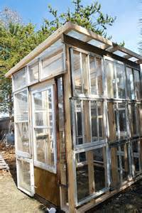 Greenhouse From Salvaged Windows Decor Sparta Savings Recycled Window Greenhouse