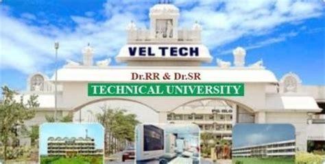 Vel Tech Mba by Vel Tech Dr Rr Dr Sr Technical Chennai