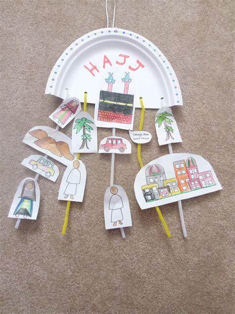 islamic crafts for hajj craft muslim learning garden