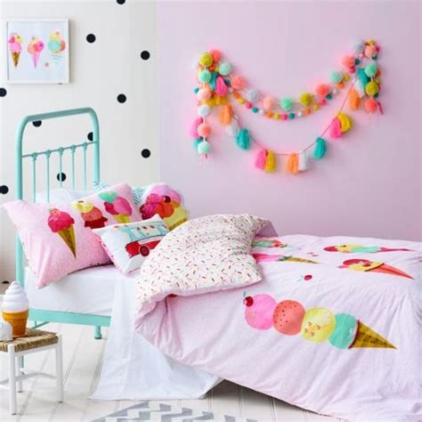 ice cream bedding 31 sweetest bedding ideas for girls bedrooms digsdigs