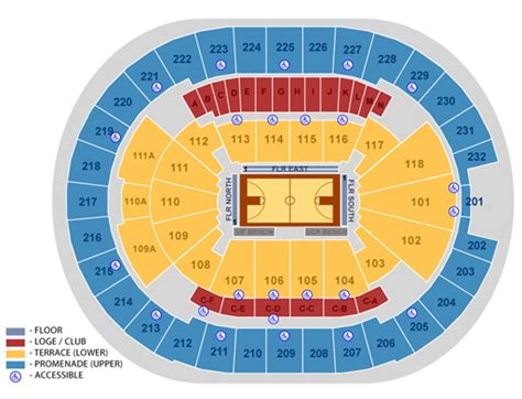 amway center seating chart seating maps amway center