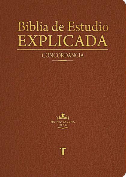 biblia de referencia dake rvr60 edition books biblia de estudio explicada rvr60 piel italiana marr 243 n