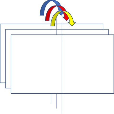 How To Make A Flip Chart With Paper - clipart how to fold a flip chart