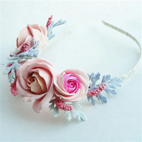 Headband Handmade - headband handmade flowers flowers handmade handcrafted