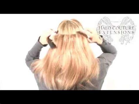 angel couture halo hair complete styling video halo couture extensions youtube
