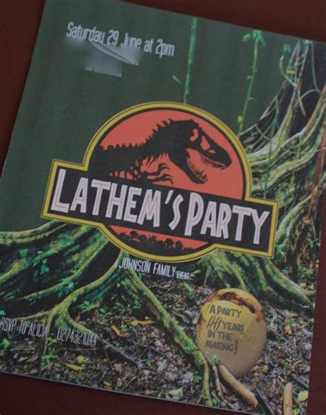 jurassic park themed birthday party a jurassic park themed birthday party by centre of
