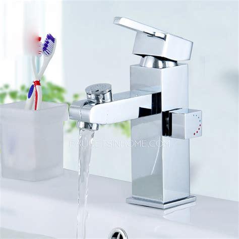 square bathroom faucets modern square shape bathroom sink faucet