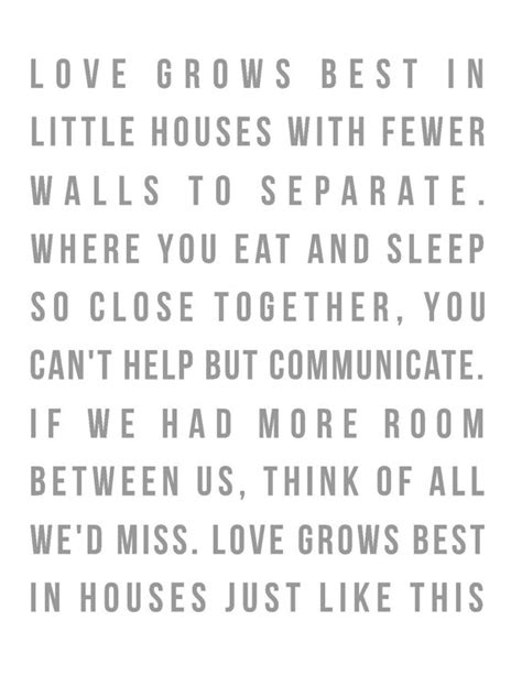 love grows best in little houses love grows best in a little house digital by