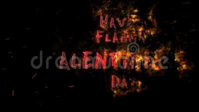 flamin valentine stock footage video  heart animation
