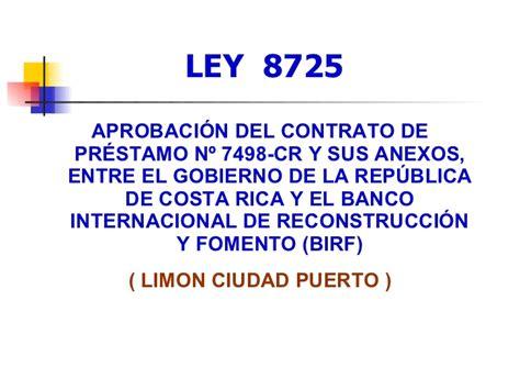 ley 5238 el gobierno de la ciudad de buenos aires dispuso la nueva ley presentaci 243 n lim 243 n ciudad puerto ley 8725